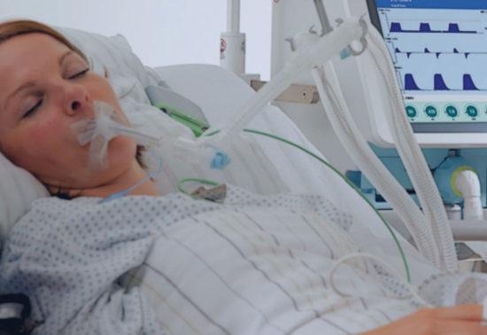 Patientenüberwachung mit Beatmung