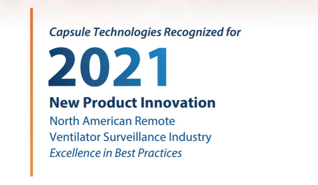 Capsule Receives Frost & Sullivan 2021 New Product Innovation Award